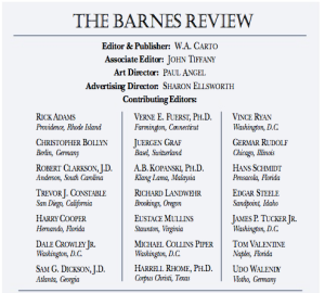 #Barnes Review
